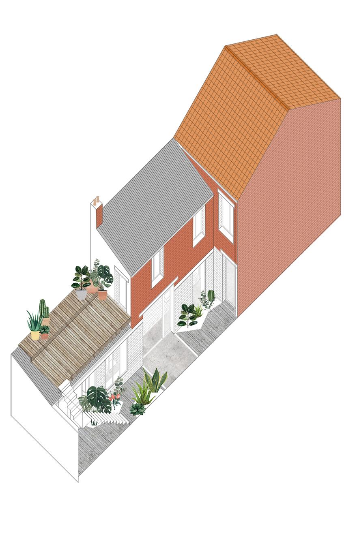 005-travail-psd-axono cour +terrasse